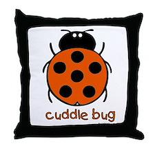cuddle bug Throw Pillow