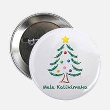 "Mele Kalikimaka 2.25"" Button (100 pack)"