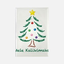 Mele Kalikimaka Rectangle Magnet (100 pack)