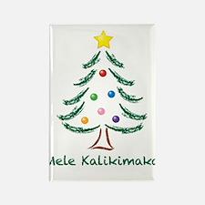 Mele Kalikimaka Rectangle Magnet (10 pack)