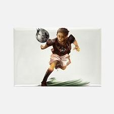 Cute World soccer Rectangle Magnet (100 pack)