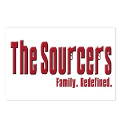 The Sourcers Postcards (Package of 8)