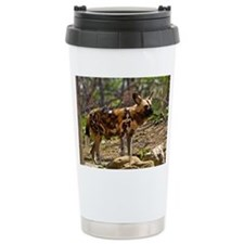 African Wild Dog 1932 Travel Mug