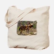 African Wild Dog 1932 Tote Bag