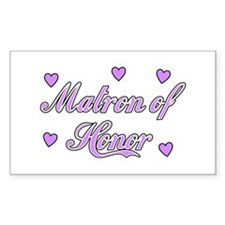Matron of Honor Decal