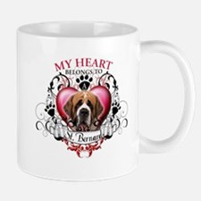 My Heart Belongs to a St. Bernard Mug