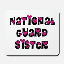 NG Sister Pink Hearts Mousepad
