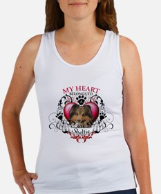 My Heart Belongs to a Sheltie Women's Tank Top