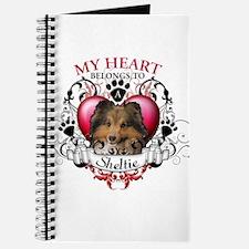 My Heart Belongs to a Sheltie Journal