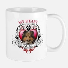My Heart Belongs to a Sheltie Mug
