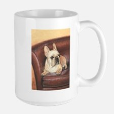 French Bulldog by Dawn Secord Mug