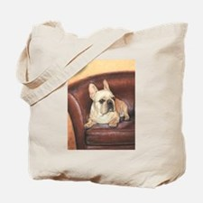 French Bulldog by Dawn Secord Tote Bag