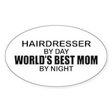 World's Best Mom - HAIRDRESSER Decal