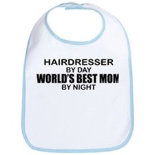 World's Best Mom - HAIRDRESSER Bib