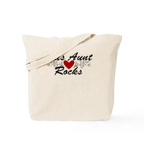 This Aunt Rocks Tote Bag