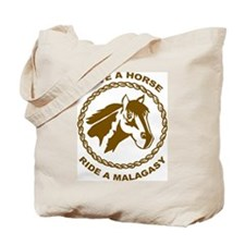 Ride A Malagasy Tote Bag