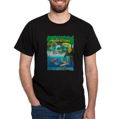Lg Toucan Design for Transparent Bkgrd T-Shirt