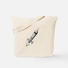 Toy Rocket Tote Bag