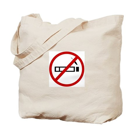 Anti Smoking Tote Bag