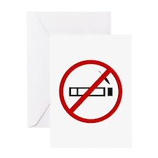 Anti Smoking Greeting Card