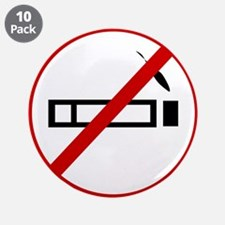 "Anti Smoking 3.5"" Button (10 pack)"