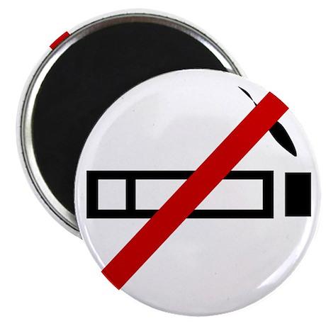 """Anti Smoking 2.25"""" Magnet (100 pack)"""