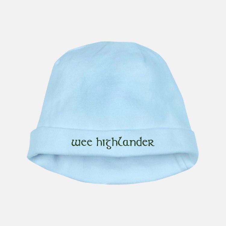Cute Scottish baby hat