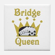 Bridge Queen Tile Coaster