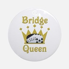 Bridge Queen Ornament (Round)