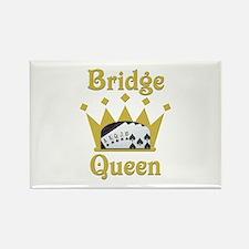 Bridge Queen Rectangle Magnet
