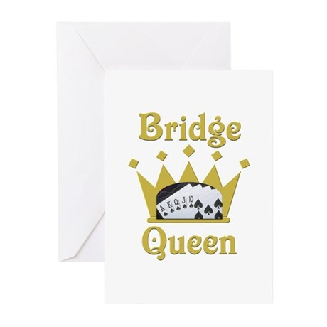 Bridge Queen Greeting Cards (Pk of 20)