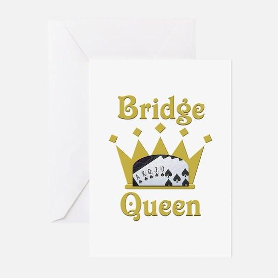Bridge Queen Greeting Cards (Pk of 20)