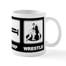 Eat Sleep Wrestle Mug