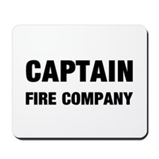 Fire Company Captain Mousepad