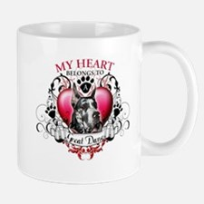 My Heart Belongs to a Great Dane Mug