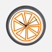 Citrus Orange! Wall Clock