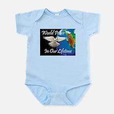 Unique Antiwar Infant Bodysuit