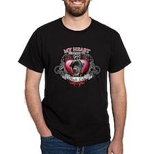My Heart Belongs to a Black Lab T-Shirt