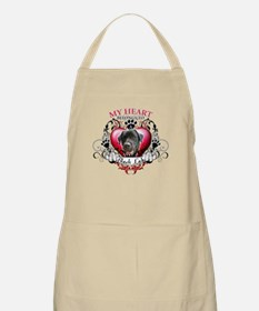 My Heart Belongs to a Black Lab Apron