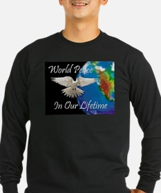 Unique Peace on earth T