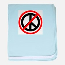 Anti Peace baby blanket