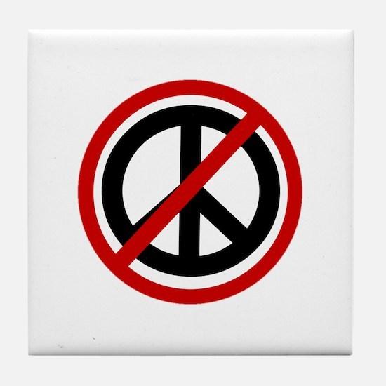 Anti Peace Tile Coaster