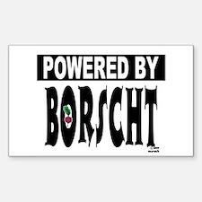 Powered by Borscht Decal