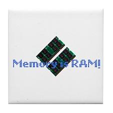 MemoryIsRam Tile Coaster