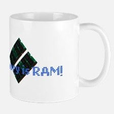MemoryIsRam Small Mugs