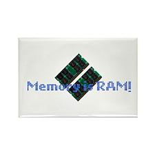 MemoryIsRam Rectangle Magnet