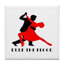 Cute The dance floor Tile Coaster