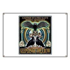 US Navy Petty Officers Keepers of the Crow Banner