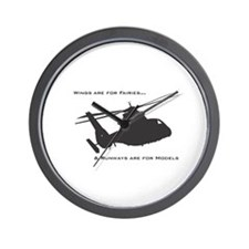 Unique Helicopter Wall Clock