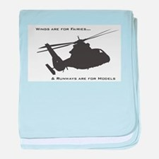 Unique Funny military baby blanket